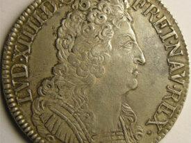 LOUIS XIV Ecu 1710 N