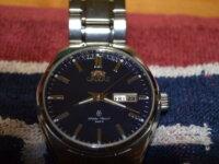 SOLD: Orient Ascend, blue guilloche dial 2