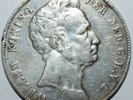 PAYS-BAS - 2 1/2 GULDEN ARGENT 1840 - RARE !!!