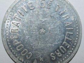 1 FRANC - COOPERATIVE 5e TIRAILLEUR - AFRIQUE NORD