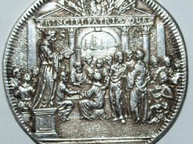 PAYS-BAS - JETON ARGENT - ROTTERDAM 1689