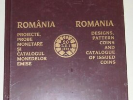 ROMANIA - Designs, Pattern coins and catalogue...