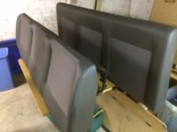 New VW T2 rear bench seat 1