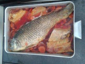 Фарширована риба на замовлення(короп,товстолоб...)