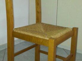 2 sedie in rovere massello