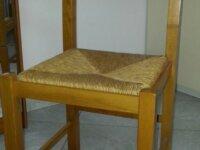 2 sedie in rovere massello 2