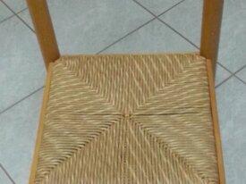 2 sedie robuste in frassino