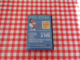 DVD tecnica tennis di Vince Spadea Play Like a Pro