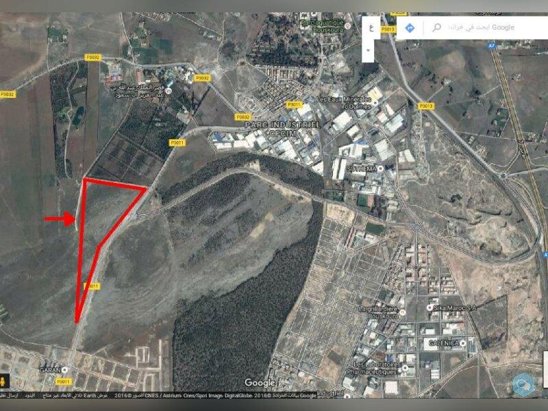 Terrain de 27 hectares à Victoria Bouskoura 1