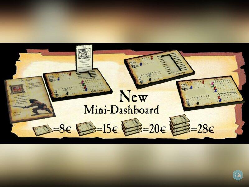 Heroquest Dashboard 2