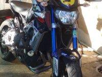 la MT09 à Julien race blue 2015 3