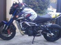 la MT09 à Julien race blue 2015 4
