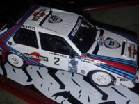 Altaya based Lancia Delta S4 Code 3 1