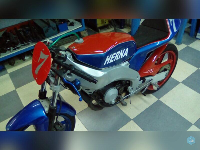Moto Herna 80 cc 2