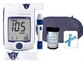Testeur de glycémie pour les diabetique