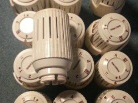 Termostatica per caloriferi con sensore a liquido