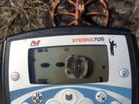 Xterra 705 con bobina  Coiltek 15 pulgadas  1
