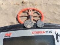 Xterra 705 con bobina  Coiltek 15 pulgadas  4
