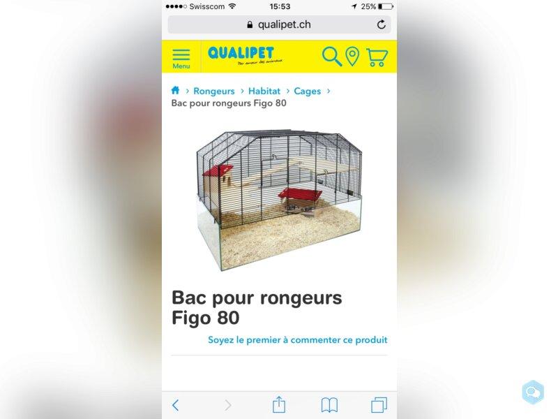 Cage pour hamster nain, souris, etc 2