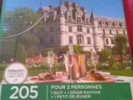 wonderbox chateau et delice