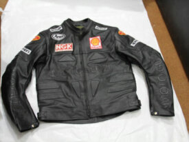 Moto Guzzi leather jacket