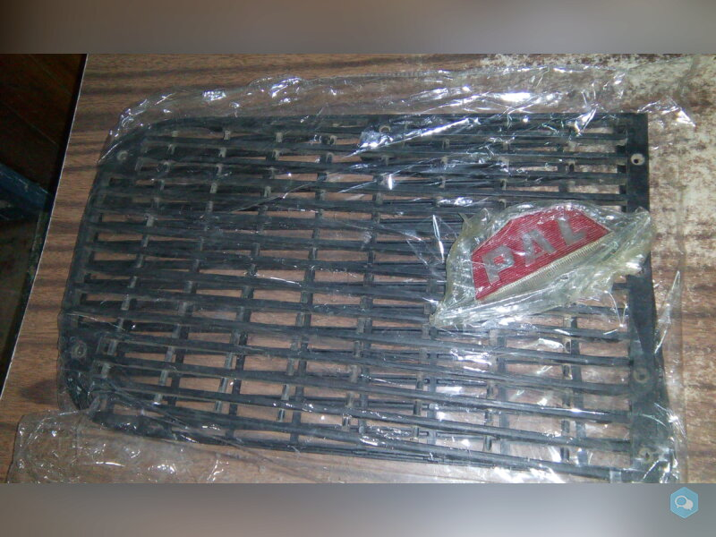 Front Grill Assembly Black with PAL Logo 1