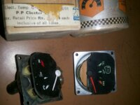 Dash Board Temperature/ Fuel Gauge Meter Unit 3