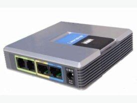 Deux adapteurs de téléphonie  IPLinksys SPA-2102
