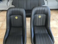 Kit sièges Speedwell + banquette arrière assortie 1