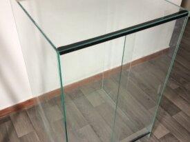 Terrarium verre 50x50x80