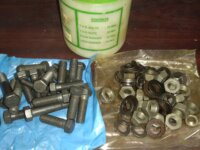 Chassis Nut Bolt Complete Kit 4