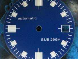 Blue dial for Seiko Auto