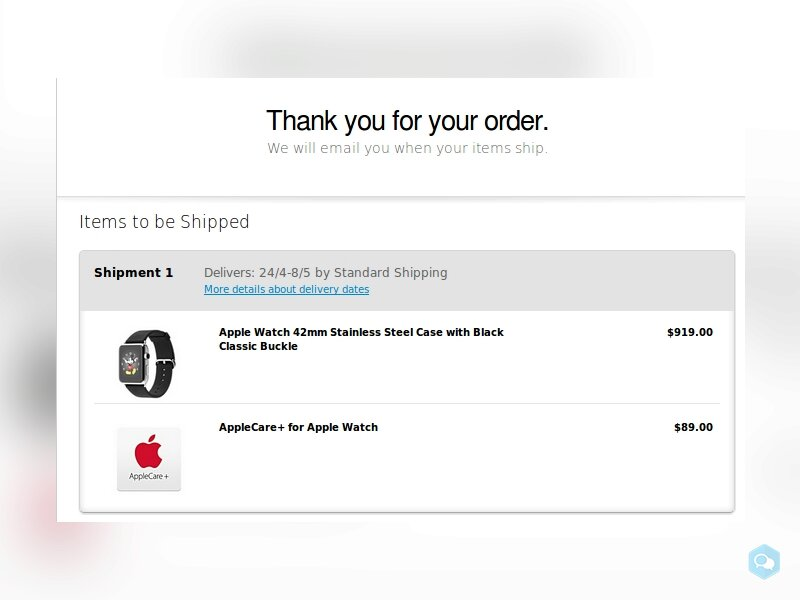 A vendre: Apple Watch Apple Watch 42mm Stainless S 2