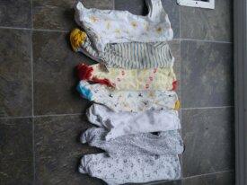 lot de pyjamas unisexe taille nouveau-né