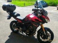 Yamaha MT 09 Tracer 06/2016  ttes options. 2