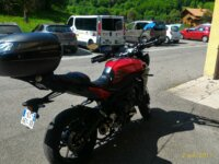 Yamaha MT 09 Tracer 06/2016  ttes options. 3