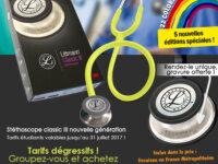Promo Stéthoscope 3M Littmann Classic III 2