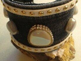 Bracelet tissus Jeans