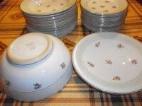 1 service de table 34 pieces en porcelaine 1
