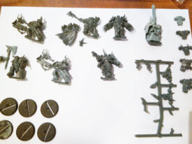 vendo lotto miniature 40k Dark Vengeance - Chaos