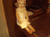poupée de chiffon , visage peint 1
