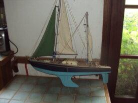 """bateau en bois """" pen duick """""""