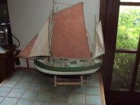 """bateau en bois """" l'ile de ré """" 1"""