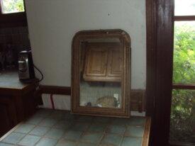 miroir ancien a restaurer