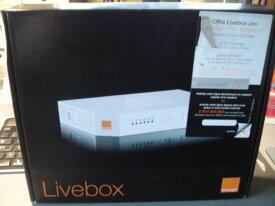 Box orange LIVEBOX