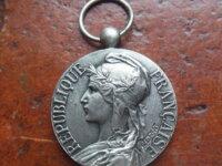 Médaille du travail industrie  RIVET 1