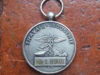 Médaille du travail industrie  RIVET 2