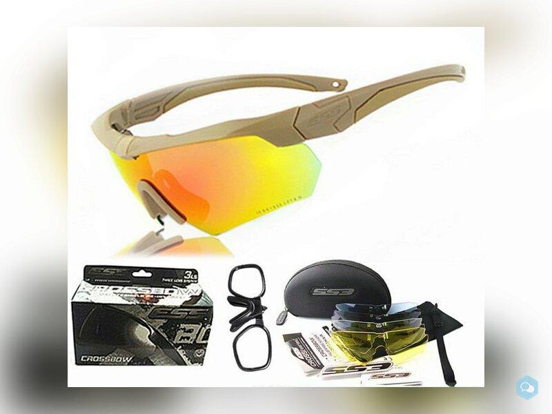 Тактические защитные очки ESS Crossbow 5LS 1