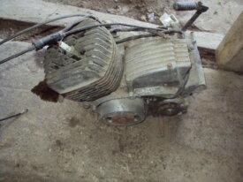 moteur de 125 kawasaki touring modèle GAE