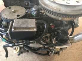 Blocco motore Yamaha 9,9-15 4T anno 82 in poi 200